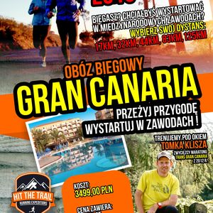 Plakat – Gran Canaria – Hit the Trail
