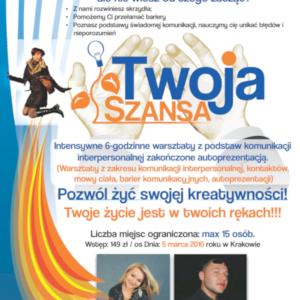 Twoja Szansa – Warsztaty 2010