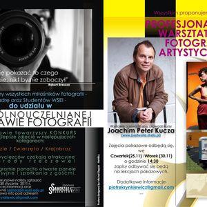 WSEI – 2 wystawa fotografii + warsztaty